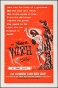 "Movie Posters:Horror, The Naked Witch (Alexander Enterprises, 1961). One Sheet (27"" X 41""). Horror.. ..."