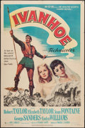 "Movie Posters:Adventure, Ivanhoe (MGM, 1952). One Sheet (27"" X 41""). Adventure.. ..."