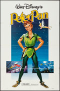 """Movie Posters:Animation, Peter Pan (Buena Vista, R-1982). One Sheet (27"""" X 41""""). Animation..... (Total: 2 Items)"""