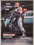 """Movie Posters:Action, RoboCop & Other Lot (Orion, 1987). Bus Shelter (45"""" X 60"""")& One Sheet (27"""" X 41"""") Advance & Regular. Action.. ...(Total: 2 Items)"""