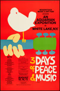 "Movie Posters:Rock and Roll, Woodstock (1970s). Reprint Poster (24"" X 36.5""). Rock and Roll....."