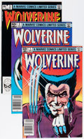 Modern Age (1980-Present):Superhero, Wolverine (Limited Series) #1-4 Group (Marvel, 1982) Condition:Average NM-.... (Total: 4 Comic Books)