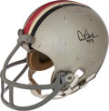 Football Collectibles:Uniforms, 1974-75 Archie Griffin Game Worn Ohio State Buckeyes Helmet--Heisman Trophy Seasons!...