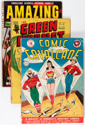 Golden Age (1938-1955):Miscellaneous, Comic Books - Assorted Golden and Silver Age Comics Group (Various Publishers, 1940s-'50s) Condition: Average FR.... (Total: 45 Comic Books)