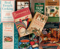 Books:Food & Wine, Group of Nine Cookbooks and Books on Cooking. Various Publishers,1952-1999. Publishers' bindings in jacket. Jackets rubbed....(Total: 9 Items)
