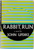 "Books:Literature 1900-up, John Updike. Rabbit, Run. New York: Knopf, 1960. Firstedition. Presentation copy, inscribed by Updike, ""for Micha..."