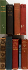 Books:Literature 1900-up, [Gaston Leroux]. Group of Nine Early-Twentieth Century Novels.Various Publishers, 1898-1939. Includes the first American ed...(Total: 9 Items)