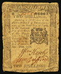 Colonial Notes:Pennsylvania, Pennsylvania April 25, 1776 2s Fine.. ...