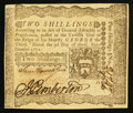 Colonial Notes:Pennsylvania, Pennsylvania April 3, 1772 2s About New.. ...