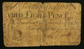 Colonial Notes:North Carolina, North Carolina March 9, 1754 8d Very Good.. ...