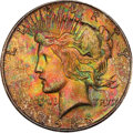 Peace Dollars, 1923-S $1 MS65 PCGS. CAC....