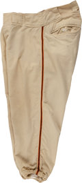 Baseball Collectibles:Uniforms, 1956 Willie Mays Game Worn New York Giants Pants....