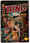 Golden Age (1938-1955):Horror, The Thing! #8 (Charlton, 1953) Condition: VG....