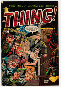 The Thing! #8 (Charlton, 1953) Condition: VG