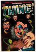 Golden Age (1938-1955):Horror, The Thing! #7 (Charlton, 1953) Condition: VG+....