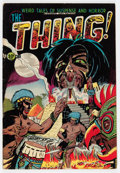 Golden Age (1938-1955):Horror, The Thing! #6 (Charlton, 1953) Condition: FN....