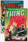 Golden Age (1938-1955):Horror, The Thing! #2 and 3 Group (Charlton, 1952) Condition: AverageFR/GD.... (Total: 2 Comic Books)