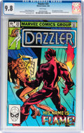 Modern Age (1980-Present):Superhero, Dazzler #23 (Marvel, 1983) CGC NM/MT 9.8 White pages....