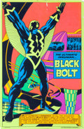 Memorabilia:Poster, Black Bolt Blacklight Poster #4009 (Marvel/Third Eye,1971)....