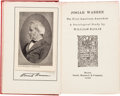 Books:Americana & American History, William Bailie. Josiah Warren: The First American Anarchist.Boston: 1906. First edition. Annotated by artist Carl...