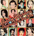 Books:Art & Architecture, [Andy Warhol]. Andy Warhol's Portraits of the 70s. New York: Random House / Whitney Museum, 1979. Second edition...