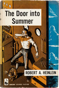 Books:Science Fiction & Fantasy, Robert A. Heinlein. The Door Into Summer. Garden City [NY]:Doubleday & Company, Inc., 1956. First edition....