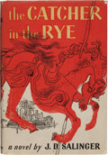 Books:Literature 1900-up, J.D. Salinger. The Catcher in the Rye. Boston: Little, Brownand Company, 1951. First edition stated. Octavo. 277 pa...