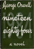 Books:Fiction, George Orwell. Nineteen Eighty-Four. London: Secker & Warburg, 1949....