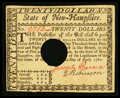 Colonial Notes:New Hampshire, New Hampshire April 29, 1780 $20 Choice About New, HOC.. ...