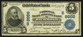 National Bank Notes:Virginia, Richmond, VA - $5 1902 Date Back Fr. 593 National State & CityBank Ch. # (S)8666. ...
