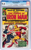 Silver Age (1956-1969):Superhero, Tales of Suspense #58 Don/Maggie Thompson Collection pedigree(Marvel, 1964) CGC NM 9.4 Off-white to white pages....