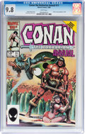 Modern Age (1980-Present):Superhero, Conan the Barbarian Annual #11 (Marvel, 1986) CGC NM/MT 9.8 Whitepages....