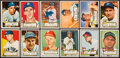 Baseball Cards:Lots, 1952 Topps Baseball Collection (119) With Stars and HoFers. ...