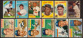 Baseball Cards:Lots, 1956 - 1966 Topps Baseball Collection (32) Mostly Stars and HoFers....