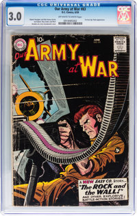Our Army at War #83 (DC, 1959) CGC GD/VG 3.0 Off-white to white pages
