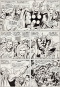Original Comic Art:Panel Pages, Jack Kirby and Bill Everett Thor #143 Page 2 Original Art(Marvel, 1967)....