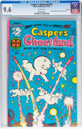 Bronze Age (1970-1979):Cartoon Character, Casper's Ghostland #92 File Copy (Harvey, 1976) CGC NM+ 9.6 Whitepages....
