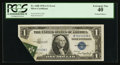 Error Notes:Foldovers, Fr. 1608 $1 1935A Silver Certificate. PCGS Extremely Fine 40.. ...
