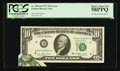 Error Notes:Foldovers, Fr. 2023-D $10 1977 Federal Reserve Note. PCGS Choice About New58PPQ.. ...