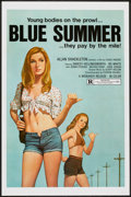 "Movie Posters:Sexploitation, Blue Summer & Others Lot (Monarch, 1973). One Sheets (6) (27"" X41"") Flat Folded. Sexploitation.. ... (Total: 6 Items)"