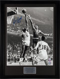 Basketball Collectibles:Photos, Bill Russell Signed Oversized Photograph. ...