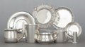 Silver Holloware, American:Other , AN ASSORTMENT OF TEN PIECE AMERICAN SILVER HOLLOWARE . Tiffany& Co., New York, New York, circa 1900. Reed & Barton,Taunton... (Total: 10 Items)