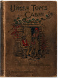 Books:Fiction, Harriet Beecher Stowe. Uncle Tom's Cabin. A Tale of Life Amongthe Lowly. John C. Winston & Co., 1897. First edi...