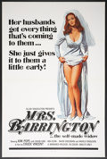 """Movie Posters:Adult, Mrs. Barrington (Monarch, 1974). One Sheet (27"""" X 41"""") Flat Folded. Adult.. ..."""