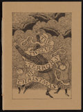 Books:Literature 1900-up, [Edward Gorey, illustrator]. John Updike. The Twelve Terrors of Christmas. First edition, one of 500 copies signed...
