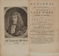 Books:Literature Pre-1900, [William Hogarth, illustrator]. Samuel Butler. Hudibras.London: Printed for C. Bathurst [and 18 others], 1775. ... (Total:2 Items)