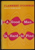 Books:Literature 1900-up, Flannery O'Connor. A Good Man Is Hard to Find. New York:Harcourt, Brace, [1955]. First edition, first issue, in fir...