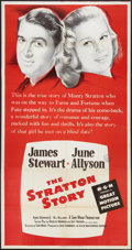 """Movie Posters:Sports, The Stratton Story (MGM, R-1956). Three Sheet (41"""" X 79""""). Sports.. ..."""