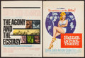 "Movie Posters:Drama, The Agony and the Ecstasy & Others Lot (20th Century Fox, 1965). Window Cards (2) (14"" X 22""), Trimmed Window Card (14"" X 17... (Total: 31 Items)"