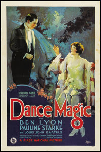 "Dance Magic (First National, 1927). One Sheet (27"" X 41"") Style B. Drama"